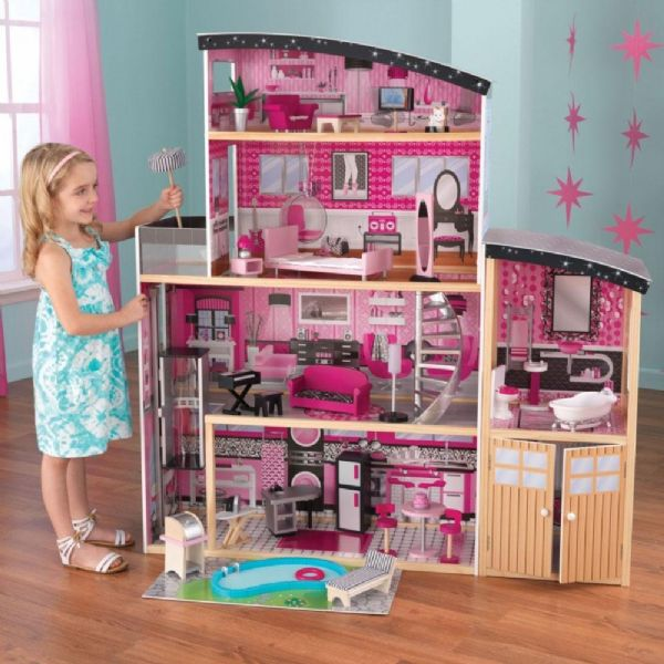Image of   Sparkle dukkehus - Sparkle Dollhouse 65826