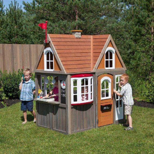 Image of   Kidkraft Greystone Cottage Legehus. - Kidkraft legehus 280093