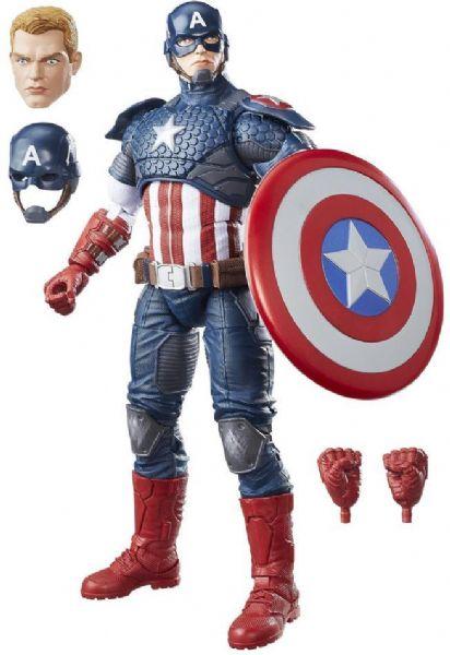 Image of Captain America deluxe figur 30 cm - The Avengers Marvel figur B7433 (238-0B7433)