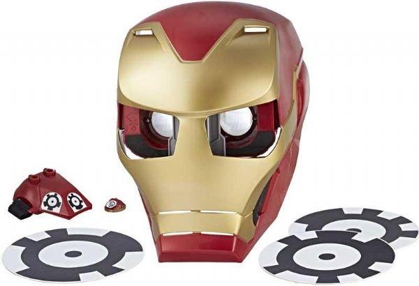 Image of Iron Man Avengers Hero Vision Maske - Marvel Avengers udklædning maske E0849 (238-0E0849)