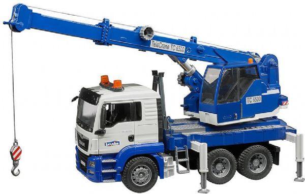 Image of MAN TGS lastbil med kran - Bruder 3770 (24-003770)