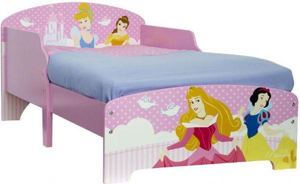 Image of Disney Prinsesse juniorseng u/madras - Børnemøbel 633656 (242-633656)
