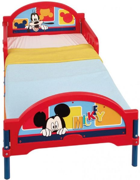 Image of Mickey Mouse juniorseng m. madras - Disney Mickey Mouse børneseng 646373 (242-646373X)