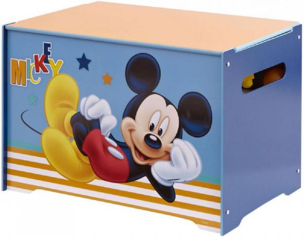Image of Mickey Mouse Legetøjskiste - Disney Mickey Mouse Opbevaring 647288 (242-647288)
