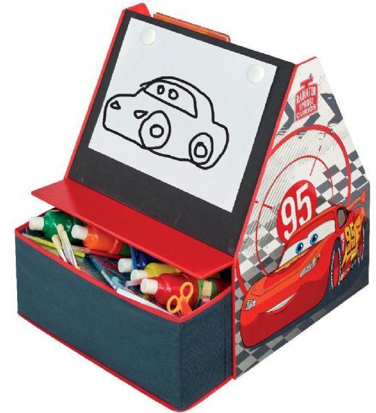 cars Cars reol m. tavle - disney biler børnemøbler 651469 på eurotoys