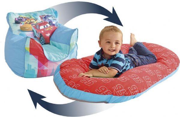 Image of   Cars lænestol oppustelig - Disney Cars børnemøbler 653845