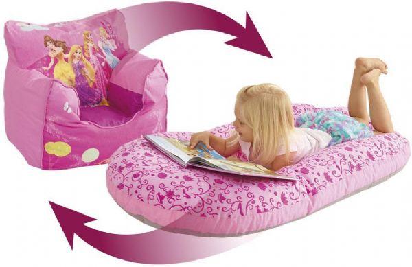 Image of   Disney Princess lænestol oppustelig - Disney Prinsesse børnemøbler 653852