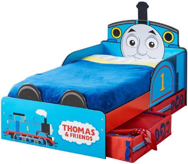Image of Thomas Tog Juniorseng med madras - Thomas og venner børneseng 657690 (242-657690X)