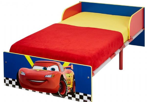 Image of Cars juniorseng u. madras - Disney Biler børneseng 658321 (242-658321)