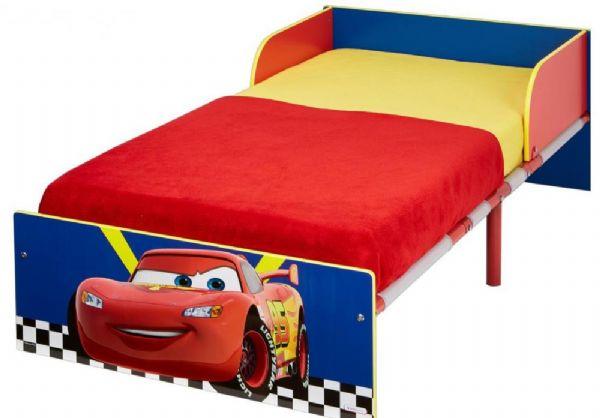 Image of Cars juniorseng med madras - Disney Biler børneseng 658321 (242-658321X)