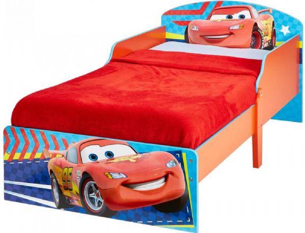 Image of Cars juniorseng med madras - Disney Biler børneseng 658338 (242-658338X)