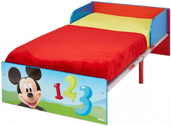 Image of Mickey Mouse juniorseng med madras - Disney børneseng 658451 (242-658451X)