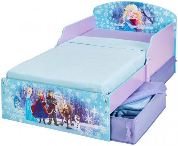 Image of Frost juniorseng med madras - Disney Frozen børneseng 658840 (242-658840X)