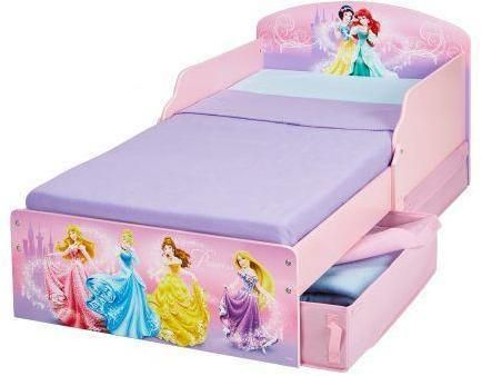 Image of   Disney Princess juniorseng med madras - Disney Prinsesser børneseng 658857