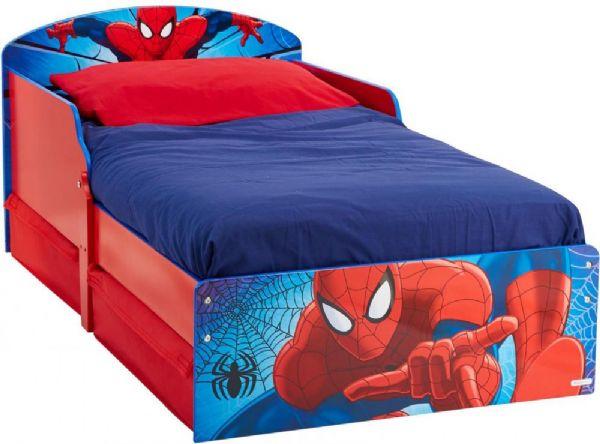 Image of Spider-Man juniorseng u. madras - Spiderman Børnemøbler 658864 (242-658864)