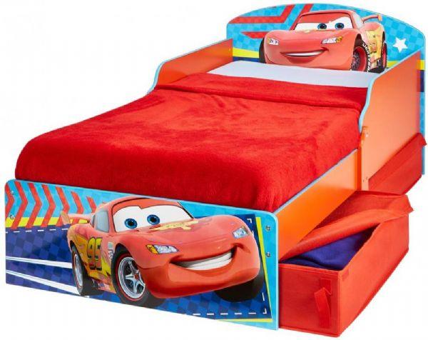 cars Cars juniorseng med madras - disney biler børneseng 659076 fra eurotoys