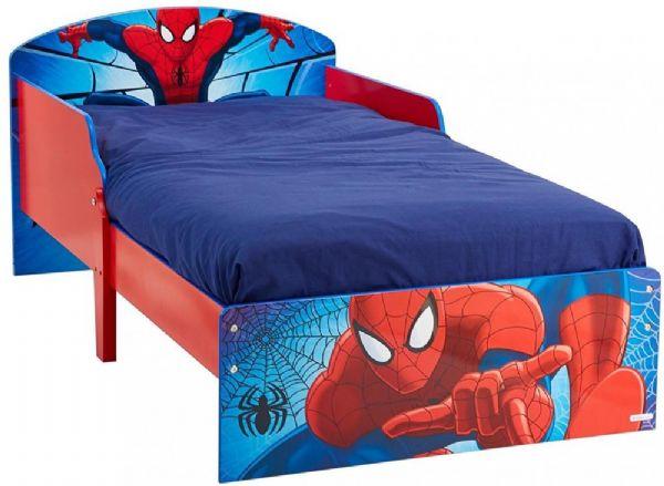 Image of Spider-Man juniorseng u. madras - Spiderman børnemøbler 660058 (242-660058)