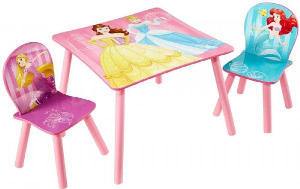 Disney prinsesser bord og stole - disney princess børnemøbler 661628 fra disney princess på eurotoys