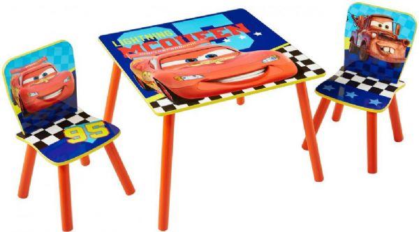 Image of   Cars bord og stolesæt - Disney Cars Børnemøbler 661666