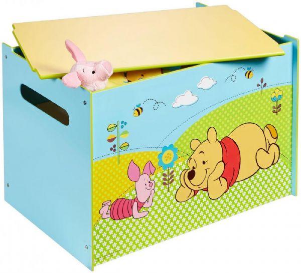 peter plys – Peter plys legetøjskiste - disney peter plys børnemøbler 662298 fra eurotoys