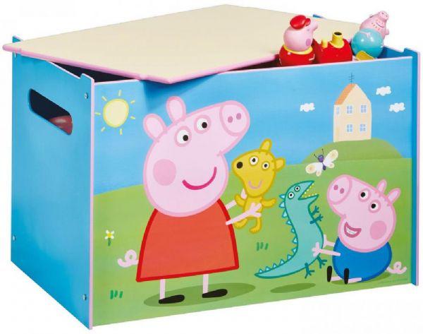 gurli gris Gurli gris legetøjskiste - gurli gris børnemøbler 663066 på eurotoys
