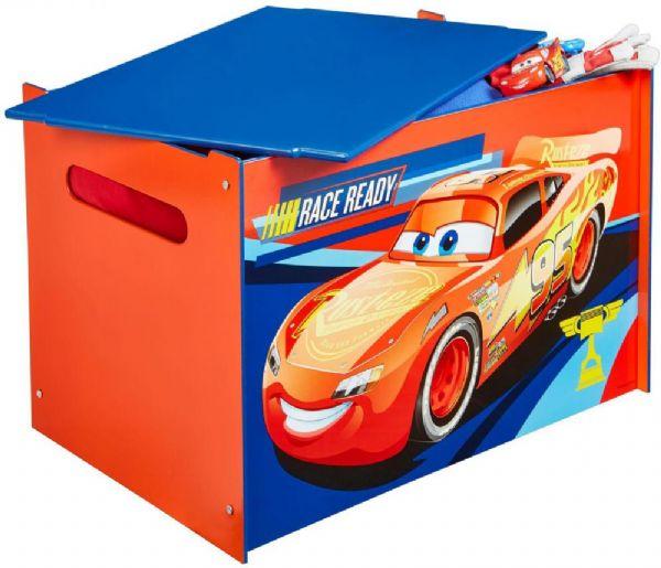 cars Lynet mcqueen legetøjskiste - disney cars børnemøbler 663134 på eurotoys