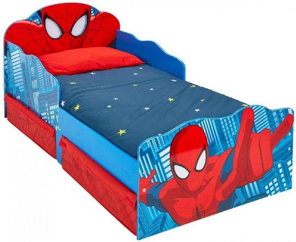 Image of Spider-Man juniorseng u. madras - Spiderman børnemøbler 663554 (242-663554)