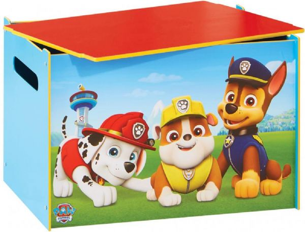 paw patrol – Paw patrol legetøjskiste - paw patrol børnemøbler 665251 på eurotoys
