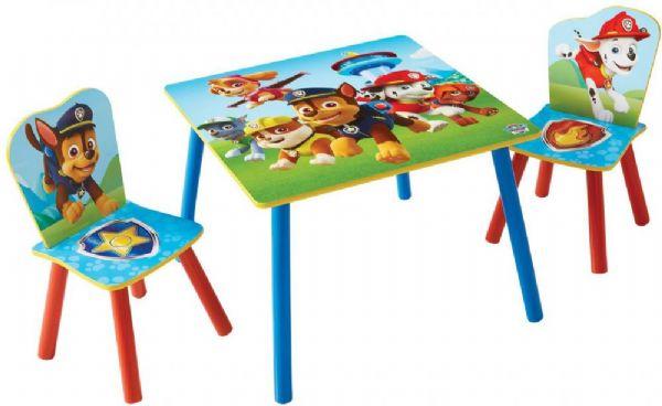 Image of   Paw Patrol bord og stole - Paw Patrol børnemøbler 665275
