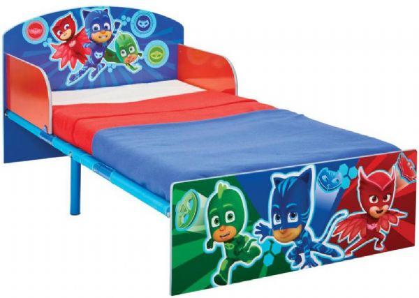 Image of PJ Masks juniorseng m. madras - Pyjamasheltene børnemøbler 665572 (242-665572X)