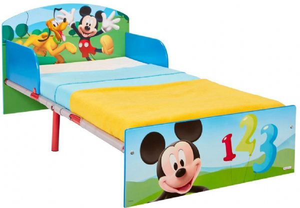 Image of Mickey Mouse Juniorseng m. madras - Disney mickey mouse børneseng 667002X (242-667002X)