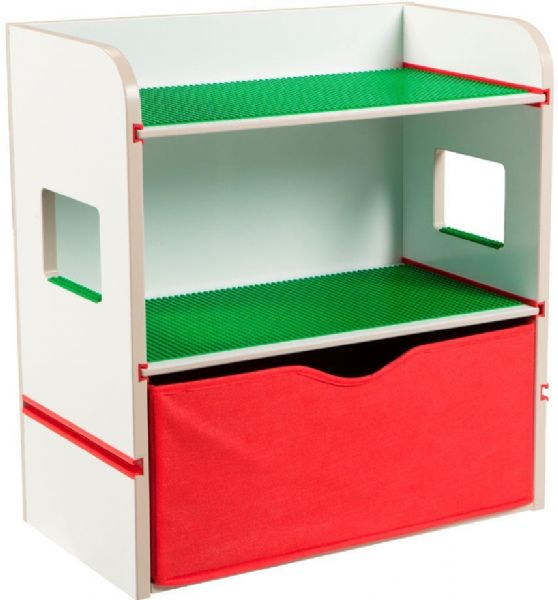 Image of Byggeklodser Reol - Byggeklodser børnemøbler 667798 (242-667798)