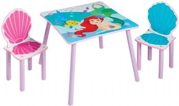 Image of   Disney Princess Ariel Bord og Stole - Disney prinsesse børnemøbler 670446