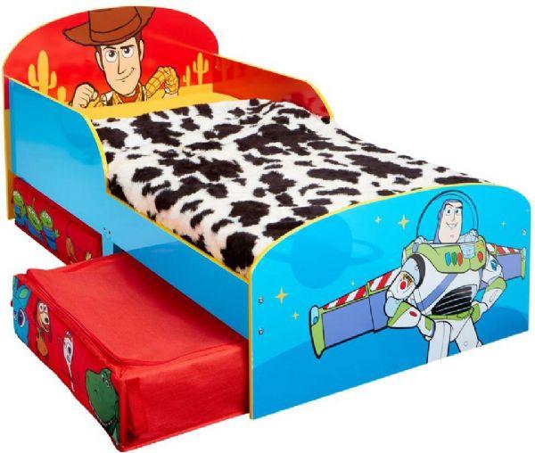 Toy story juniorseng m. madras - toy story børneseng 670453x fra toy story fra eurotoys