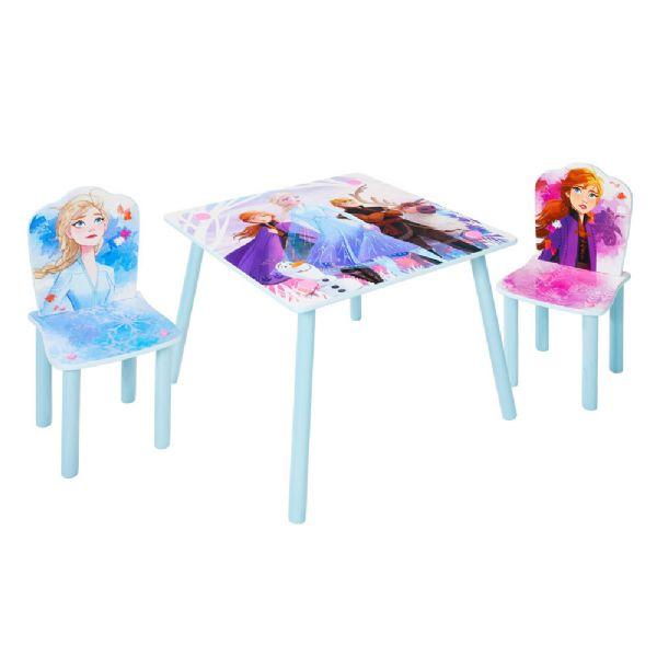 Image of   Disney Frost Bord og Stole - Disney frozen børnemøbler 670491