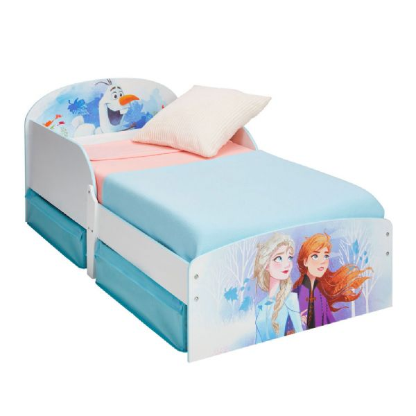 Image of   Disney Frost juniorseng m. madras - Disney frozen børneseng 670521X