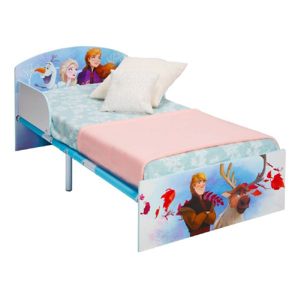 Image of   Disney Frost juniorseng m. madras - Disney frozen børneseng 670842X