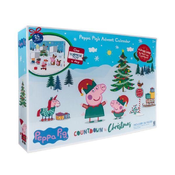 Gurli Gris Julekalender 2020 - Gurli gris pakke kalender 52489
