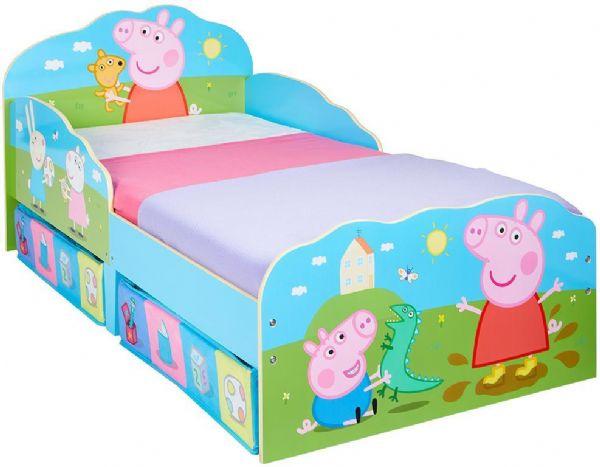 Gurli gris juniorseng med madras - gurli gris børnemøble 666692x fra gurli gris på eurotoys