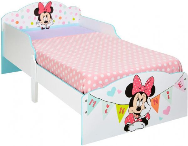 Image of Minnie Mouse juniorseng med madras - Disney Børneseng 667514X (261-667514X)