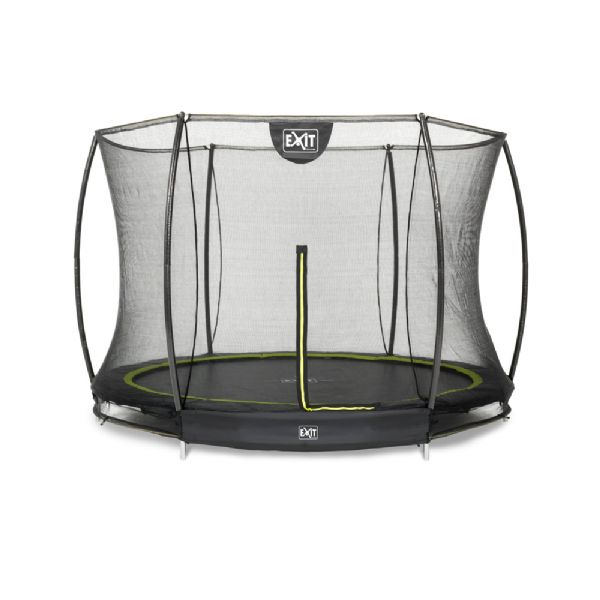 Image of   EXIT Silhouette Trampolin sort ø244 cm - Exit Trampoliner 020380
