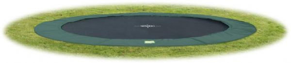 Image of EXIT InTerra trampolin Ø366 - Exit trampolin 102012 (267-102012)