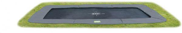 Image of   EXIT InTerra trampolin 244x427 grå - Exit trampolin 102614