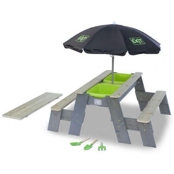 Image of   Aksent deluxe Sand, Vand og picnicbord - EXIT Udendørsleg 469024
