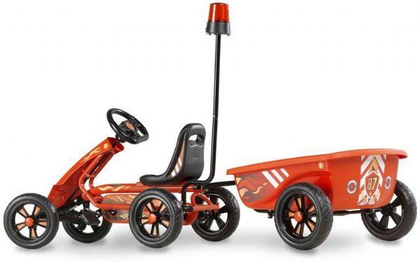 Image of   Pedal Go-kart Foxy Fire m. trailer - EXIT Gocart 707305