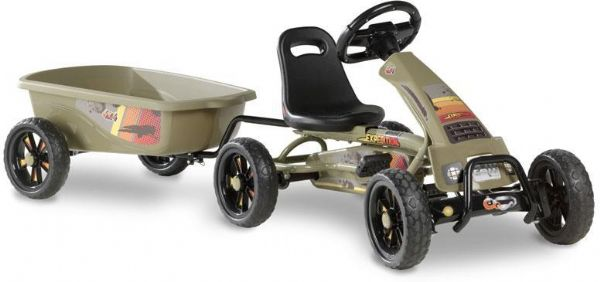 Image of   Pedal Go-kart Foxy Expedition m. trailer - EXIT Gocart 707312