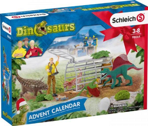 Schleich Julekalender Dinosaurer 2020 - Schleich Dinosaurs 98064