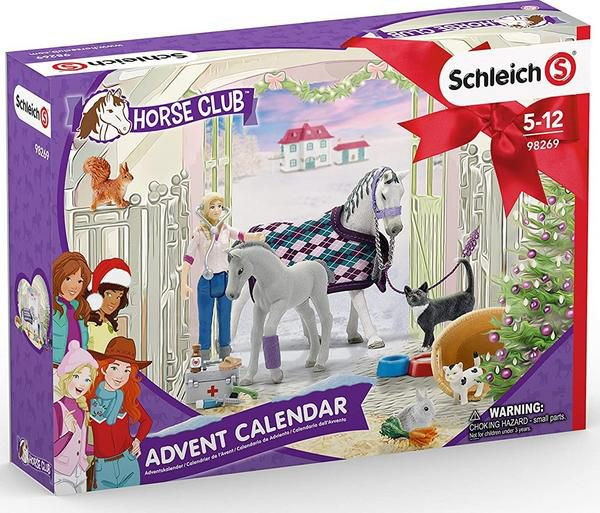 Schleich Julekalender Heste 2020 - Schleich Horse Club 98269