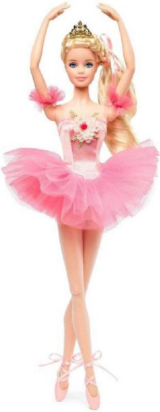 Image of   Barbie Ballet Wishes Dukke - Barbie signature dukker DVP52