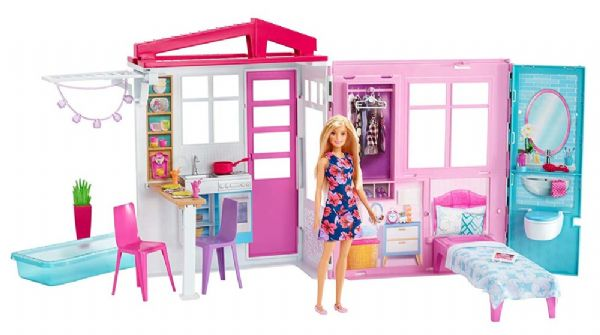Image of Barbie Feriehus - Barbie Dukkehus FXG55